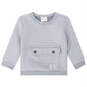 Blusa Infantil Masculina Matelassê - Luc.Boo