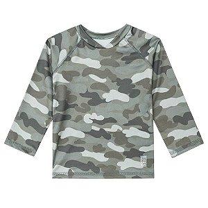 Camiseta de Banho Lycra com Proteção Solar - Luc.Boo