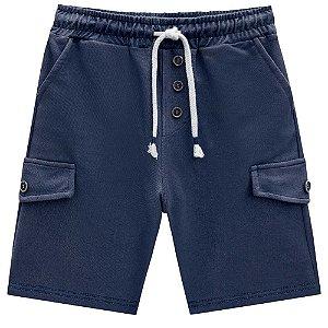 Bermuda Malha Jeans - Luc.Boo