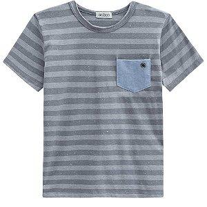 Camiseta Malha Listras - Luc.Boo