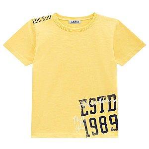 Camiseta Malha Flame - Luc.Boo