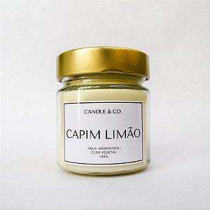 Vela Capim Limão CLÁSSICA 180gr