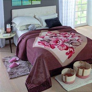 Cobertor Jolitex Ternille Dyuri Casal toque macio Olimpo