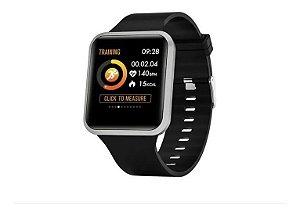 Smartwatch Quanta Qtris4 Series 4 Com Bluetooth - Preto