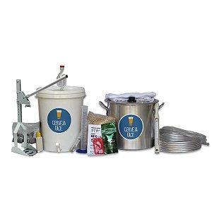 Kit Equipamentos BIAB Cerveja Fácil 10 litros