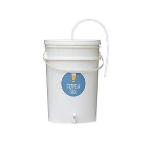 Balde Fermentador 24 litros com mangueira Blowoff
