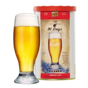 Beer Kit Coopers 86 Days Pilsner - 23l