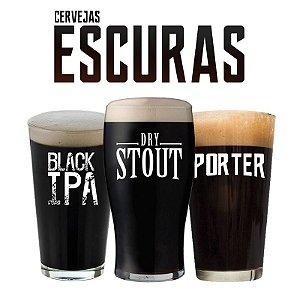 Kit de Receitas - Cervejas Escuras