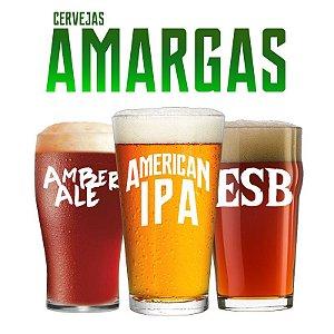 Kit de Receitas - Cervejas Amargas