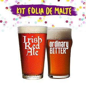 Pack de Carnaval - Kit Folia de Malte - Cervejas Maltadas