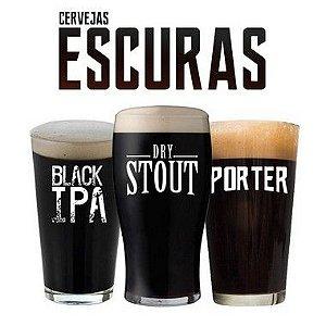 Kit de Receitas - Cervejas Escuras - 20l
