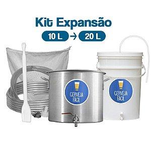 Kit BIAB Cerveja Fácil Upgrade 10-20