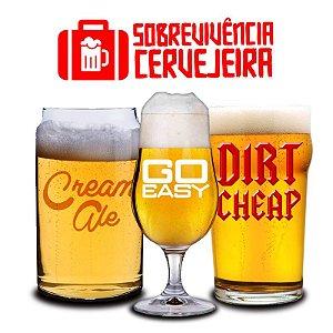 Kit Sobrevivência Cerveja Fácil 20 litros