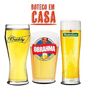 Kit Receita Cerveja Fácil Buteco em Casa - 30 litros