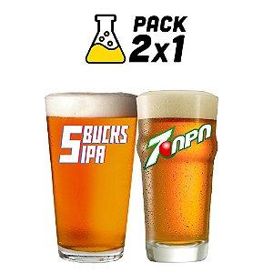 Kit Cerveja Facil 2x1 7-APA e 5-Bucks 10 litros