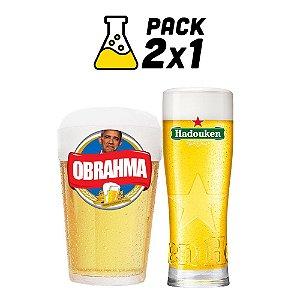 Kit Cerveja Facil 2x1 Obrahma e Hadouken 20 litros