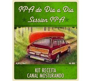 Kit Receita Canal Mosturando IPA do Dia a Dia - 10 litros