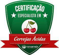 """Certificação """"Especialista em Cervejas Ácidas"""" - Compre na descrição"""