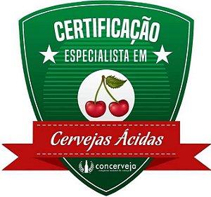 Certificação em Cervejas Ácidas - Concerveja