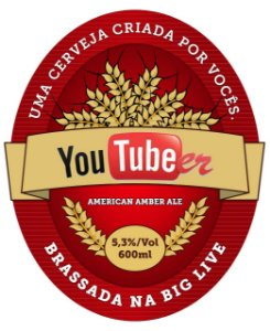 Kit Receita Canal Mosturando Youtubeer American Amber Ale - 20 litros