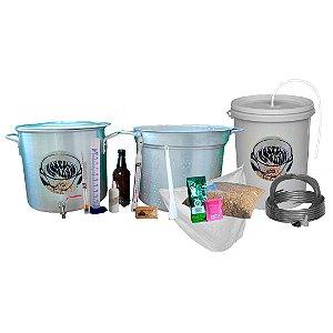 Kit Fabricação de Cerveja Biab 3x1 Master Mosturando