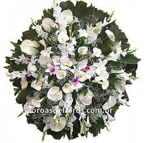 Coroa de Flores 16 ( Orquidea )