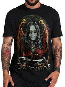 Camiseta Ozzy Osbourne Preta