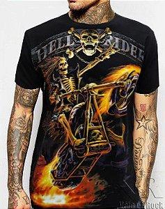 Camiseta Hell Rider Preta