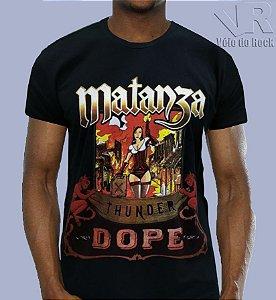 Camiseta Matanza Preta