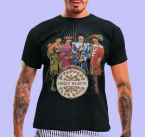 Camiseta The Beatles Sgt Peppers