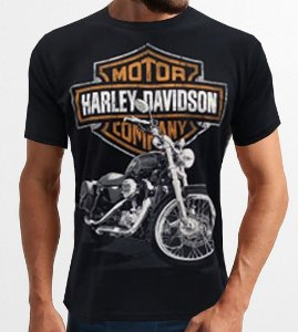 Camiseta Harley Davidson Custom