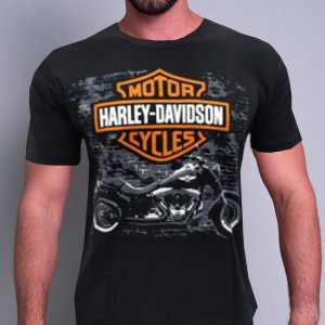 Camiseta Harley Davidson Cycles