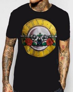 Camiseta Guns N Roses Logo
