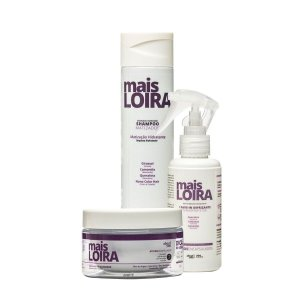 Kit Mais LOIRA - Shampoo, Máscara e Leave-in