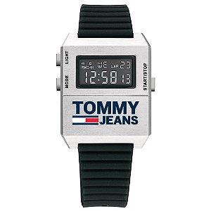 Relógio Tommy Jeans Masculino Borracha Preta - 1791672