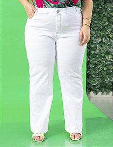 Calça Jeans Plus Size Básica Cintura Média Julia Plus