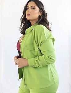 Jaqueta Plus Size Modelo Alongado Julia Plus