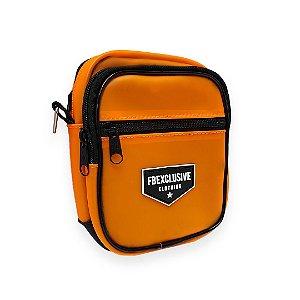 Shoulder Bag Laranja Neon