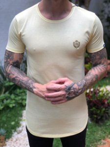 Camiseta Básica Brasão Canário