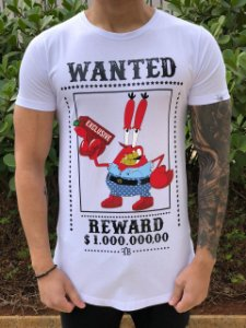 Camiseta Sirigueijo Wanted White