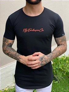 Camiseta Signature Co. Preta