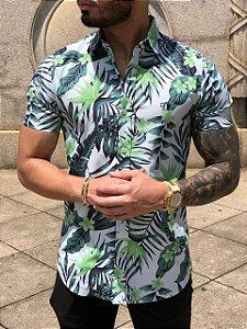 Camisa Leaf Green