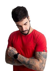 Camiseta Brasão Vermelha
