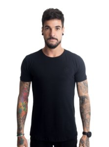 Camiseta Brasão Preta
