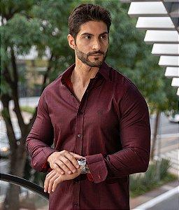 Camisa Marsala Black