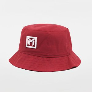 Bucket Micro Fibra Vermelho - BK RED ROSE