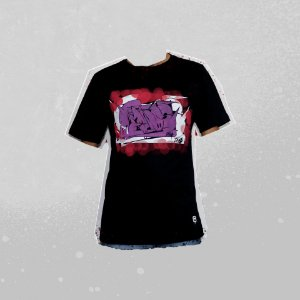Camiseta Preta Manos CS RTK MANOS 2