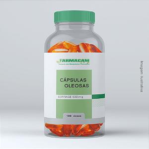 Cápsula Oleosa de Borrage 500 mg