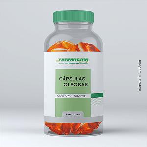 Cápsula Oleosa de Cártamo 1000 mg