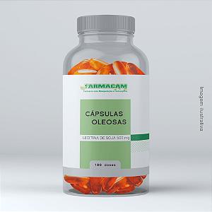 Cápsula Oleosa de Lecitina de Soja 500 mg